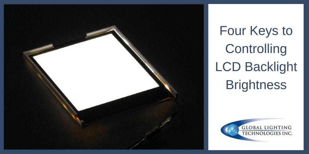 controlling LCD backlight brightness